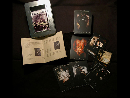 Savage Tarot publication original edition