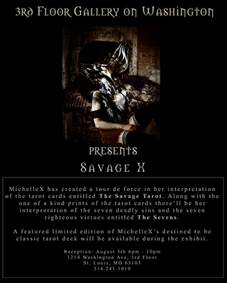Solo Exhibition Savage X